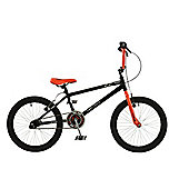 "Zombie Outbreak 20"" Wheel Junior Freestyle BMX Bike with Stunt Pegs Black/Orange"
