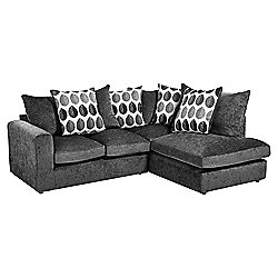 Whitton Scatterback Right Hand Corner Sofa Dark Grey