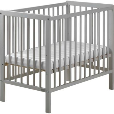 Carolina Space Saving Cot with Mattress Grey