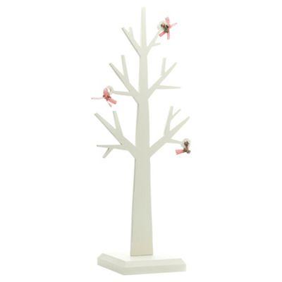Festive 44cm Wooden Tree Christmas Decoration