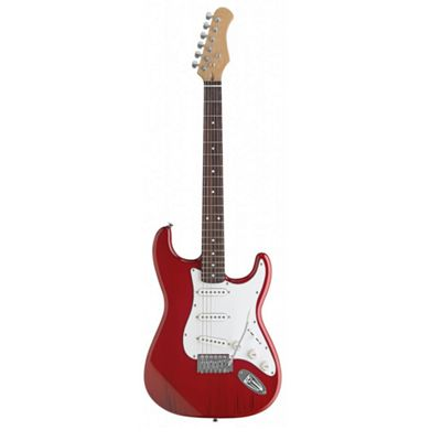Rocket Standard Electric Guitar - Trans Red