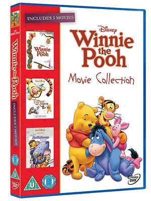 Winnie The Pooh Box Set - Winnie The Pooh Movie/ Heffalump Movie/ Tigger Movie (DVD Boxset)
