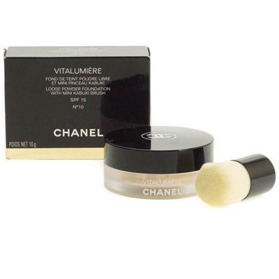 Chanel Vitalumiere Loose Powder Foundation 10 Beige - Light