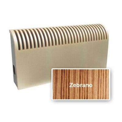 Jaga Knockonwood Wooden Radiator 300mm High x 2200mm Wide Type 10 Zebrano