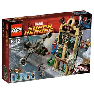 LEGO Super Heroes Ultimate Spider-Man: Daily Bugle Showdown 76005