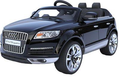 Audi Q7 4.2 TDI Quattro 12v Kids Electric Car - Black