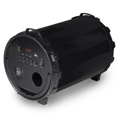 Akai Sound Cannon Wireless & Karaoke Speaker Black