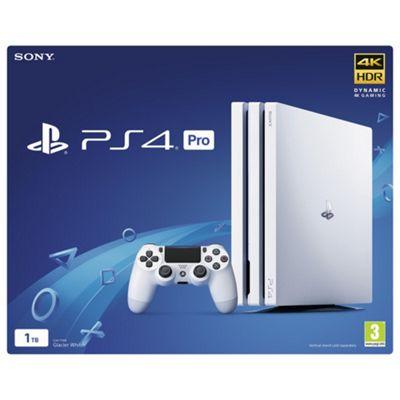 PS4 Pro 1TB B Chassis White/UK
