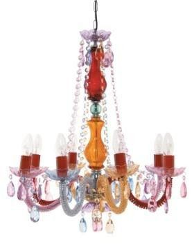 Aimbry desire chandelier, multi coloured