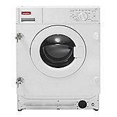 Montpellier MWBI6012 6kg 1200rpm Integrated Washing Machine