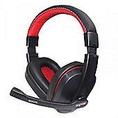 Approx appGH5 Binaural Head-band Black Red headset