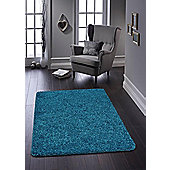 Buddy Washable Shaggy Stain Free 100x150 Teal