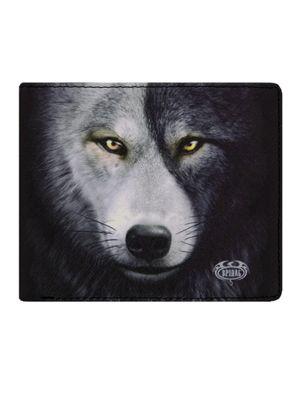 Spiral Wolf Chi Bifold Wallet 13 x 10 x 2cm
