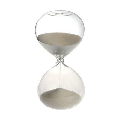 Nicola Spring 15 minutes Glass Sand Clock Kitchen Timer