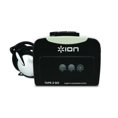 Ion Tape 2 Go Portable USB Tape To MP3 Media Player