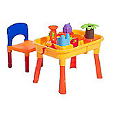 Homcom 32pcs Sand Table Chair Set Beach Children Play Kit Outdoor Activity
