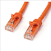 StarTech 2m Orange Gigabit Snagless RJ45 UTP Cat6 Patch Cable - 2 m