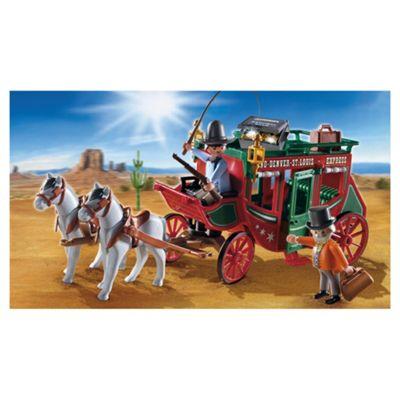 Playmobil Western Stagecoach