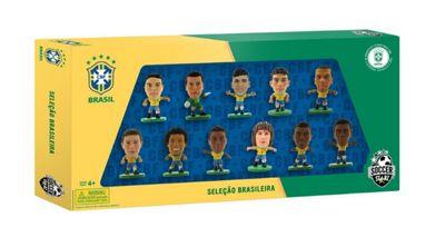 SoccerStarz Brazil International 11-Figurine Team Pack