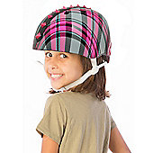 Krash Plaid Pyramid Studs Safety Helmet