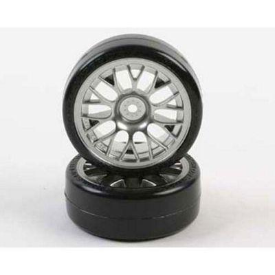Tamiya 54021 Mesh Wheel With Super Driftech Tyre 24Mm (2Pcs) - Rc Hop-Ups
