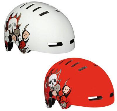Lazer Street Skull Urban Helmet - Medium White (55-58cm)
