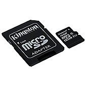Kingston 16GB microSD High Capacity (microSDHC) Class 10 UHS-I (U1) Memory Card