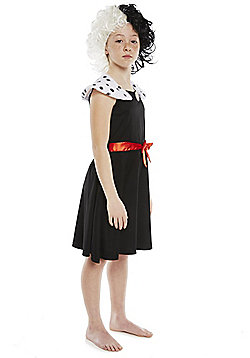 Disney 101 Dalmatians Cruella de Vil Dress-Up Costume - Black