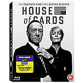 House of Cards - Series 1 & 2 DVD