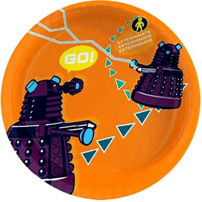 Doctor Who Party Paper Plates 23cm  sc 1 st  Tesco & Buy Doctor Who Party Paper Plates 23cm from our All Party Tableware ...