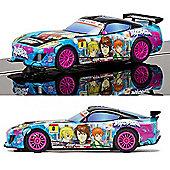 SCALEXTRIC Slot Car C3838 Team GT Lightning - Team GT Sunrise (Anime)