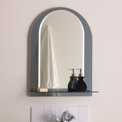Endon Lighting Arced Bathroom Mirror