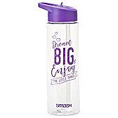 Smash 700ml slogan triton bottle Purple