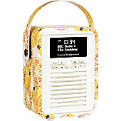 View Quest Emma Bridgewater Retro Mini DAB+/FM Radio with Bluetooth (Marmalade)