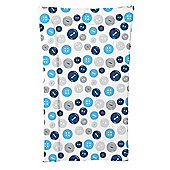 Kit for Kids Changing Mat (Blue Buttons)