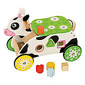 Bigjigs Toys Cow Ride On