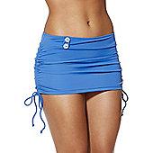 Curvy Kate Luau Love Swim Skirt - Blue
