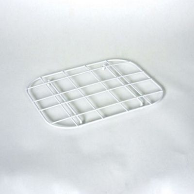 Delfinware Plastic Coated Sink Mat Drainer in White