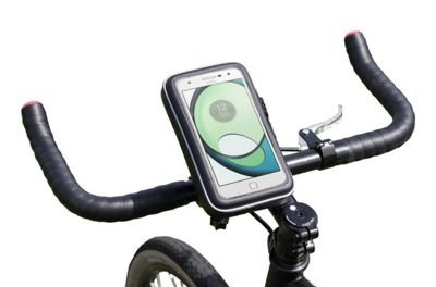 Navitech Cycle Bike Bicycle Waterproof Mount and Case For Phones and Smartphones up to 6 inches