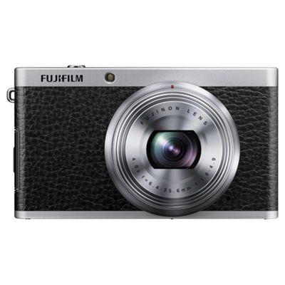 Fujifilm XF1 Digital Camera, Tan, 12MP, 4x Optical Zoom, 3