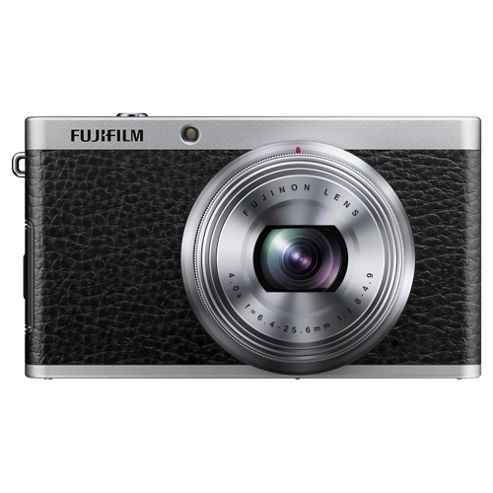 Fujifilm XF1 Digital Camera, Tan, 12MP, 4x Optical Zoom, 3