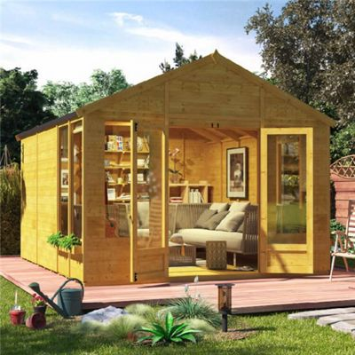 BillyOh Holly Tongue and Groove 12x10 T&G Apex Summerhouse