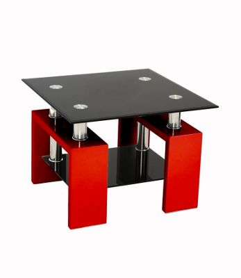 Metro Side Table Red