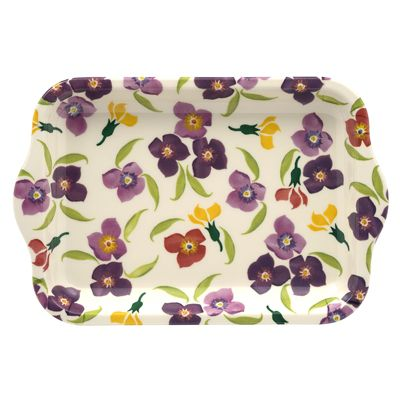Emma Bridgewater Wallflower Melamine Tray Small