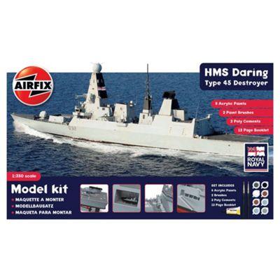 Hornby 1:350 HMS Daring Type 45 Destroyer Airfix