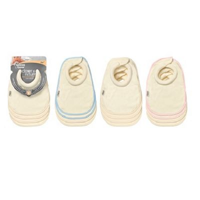 Tommee Tippee Milk Feeding Bibs Pack of 4 Cream