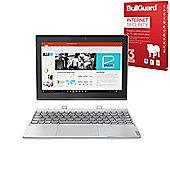 "Lenovo Miix 320 - 10.1"" Convertible 2-in-1 Laptop/Tablet Intel Atom Quad Core 2GB 64GB Windows 10 with Internet Security - 80XF001BUK"