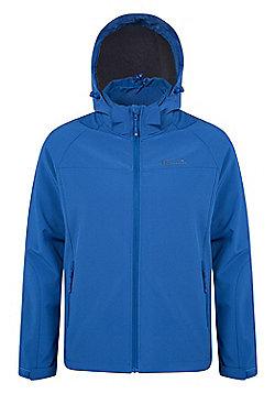 Mountain Warehouse Exodus Mens Softshell Jacket - Blue