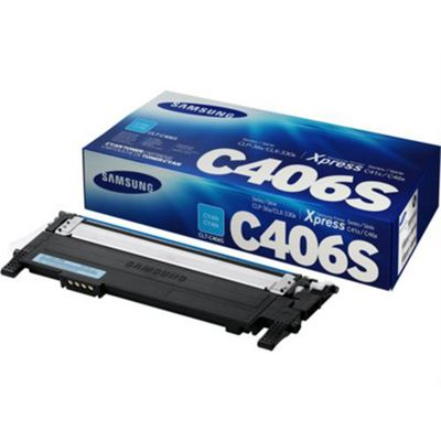 HP Samsung CLT-C406S Cyan Toner Cartridge