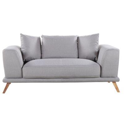 Sofa Collection Phoenix Textured Fabric 2 Seat Sofa - Cappuccino